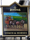NZ0516 : Sign for the Coach and Horses by Maigheach-gheal