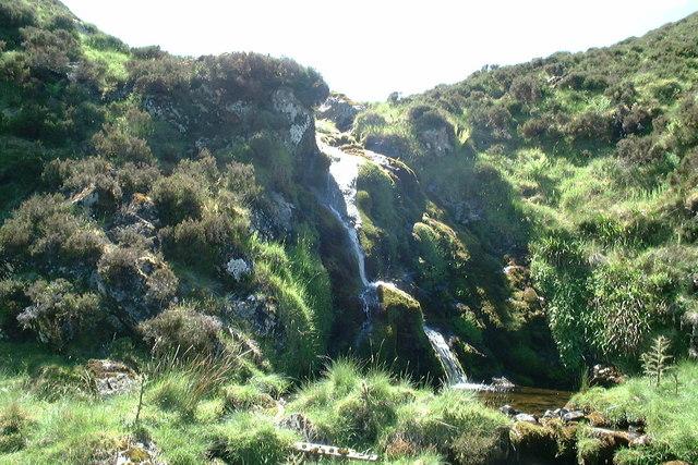Waterfall on the Back Burn