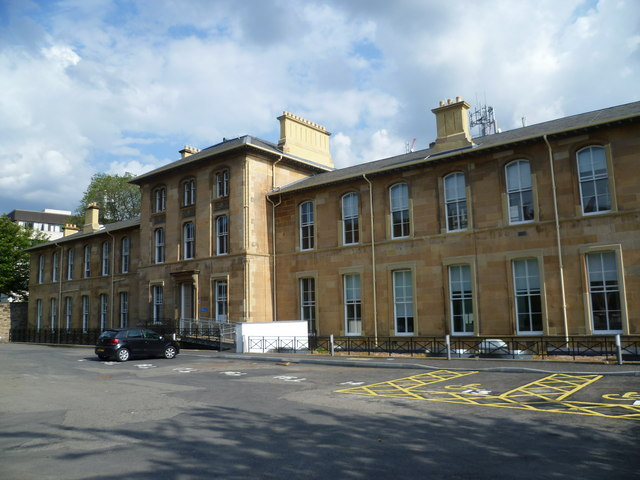 Former Chalmers Hospital, Lauriston Place