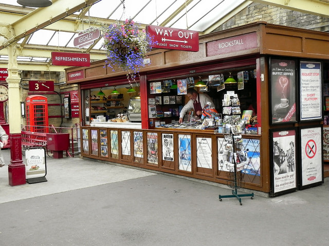 Newsagents and Refreshments Kiosk, Keighley Station