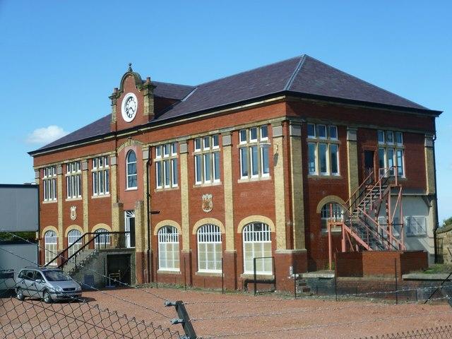 Former Granton Gas Works Station building