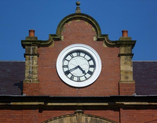 Former Granton Gas Works Station clock