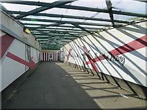SU4212 : Railway bridge near St Mary's Stadium by Basher Eyre