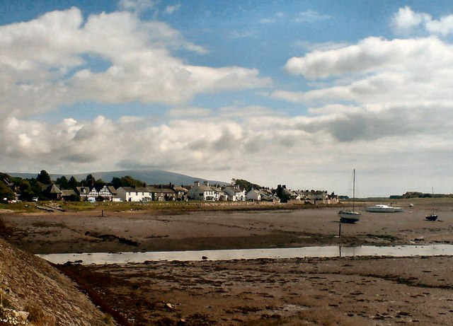 Ravenglass at low water