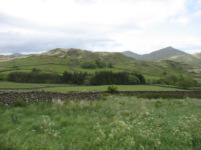 The Crosby valley from Acre Gate