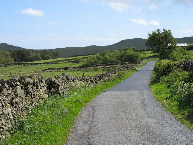 Lane at Low Craghall