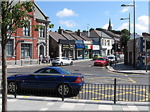 J4844 : St Patrick's Avenue from Market Street by Eric Jones