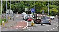 J2969 : Bus lane, Dunmurry by Albert Bridge