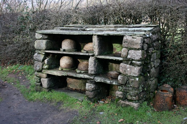 Bee shelter, St Fagans Museum