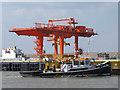 TQ4980 : Overhead travelling crane by Stephen Craven