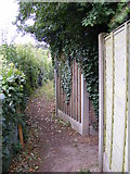TM4160 : Footpath junction on Friston footpath no.28 by Geographer