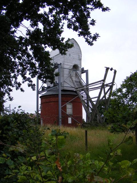 Friston Post Mill