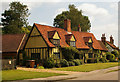 TL2923 : Terraced cottages, Benington, Hertfordshire by Julian Osley