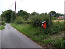 TM4160 : Church Road & the footpath to Grove Road by Geographer