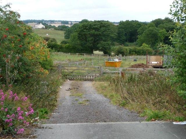 Private track off Stocksmoor Road