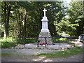 NJ5210 : Leochel-Cushnie War Memorial by Stanley Howe