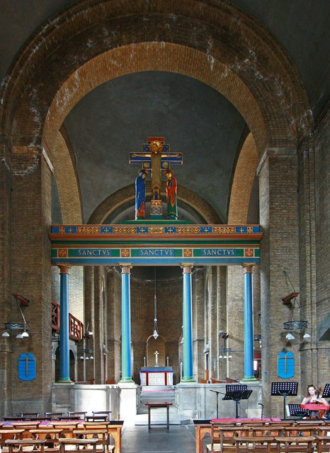 St Barnabas, Shacklewell Row, Dalston - East end