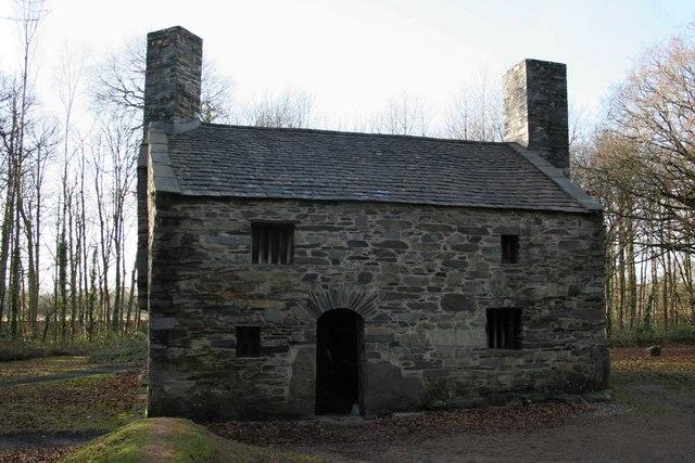 Y Garreg Fawr Farmhouse, St Fagans Museum of Welsh Life