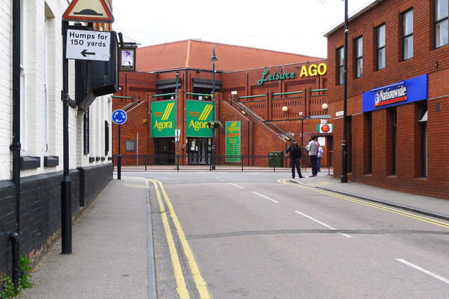The Agora Centre from Radcliffe Street, Wolverton