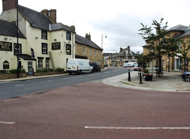 The centre of Wolsingham