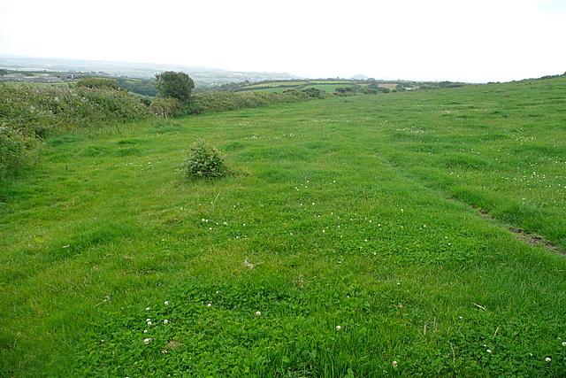 Bridleway towards Lower Chellew