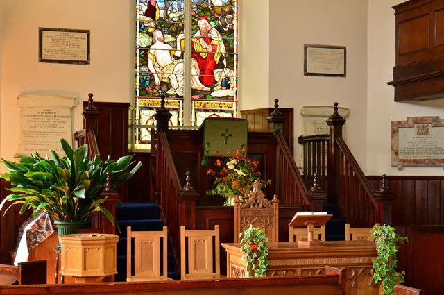 Glenorchy Parish Church - interior(3)