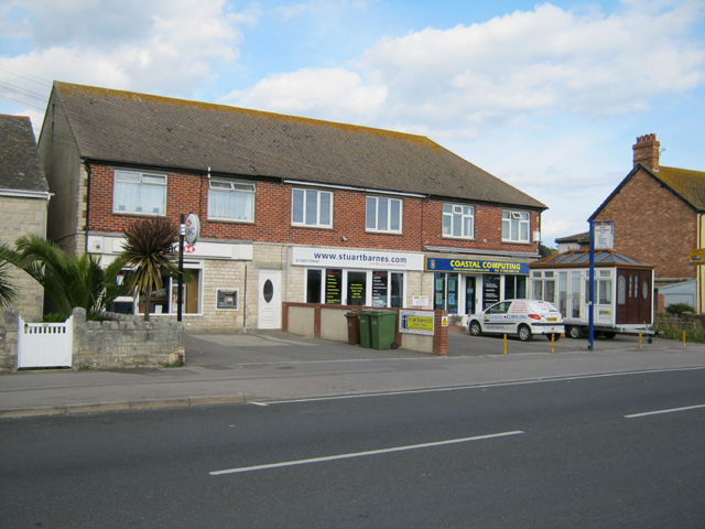 Parade of shops in Portland Road