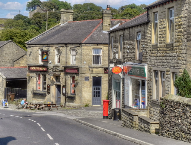 Trawden Arms and Post Office