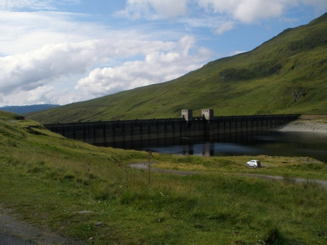 South end of Lochan na Lairige