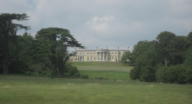 View of Holwood Mansion