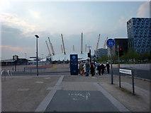 TQ3979 : O2 Arena, Greenwich by Christine Matthews