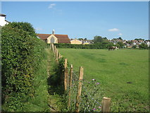TQ4563 : Footpath to St Mary's Church by David Anstiss