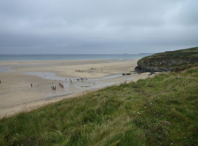 Beach at Black Cliff, Hayle