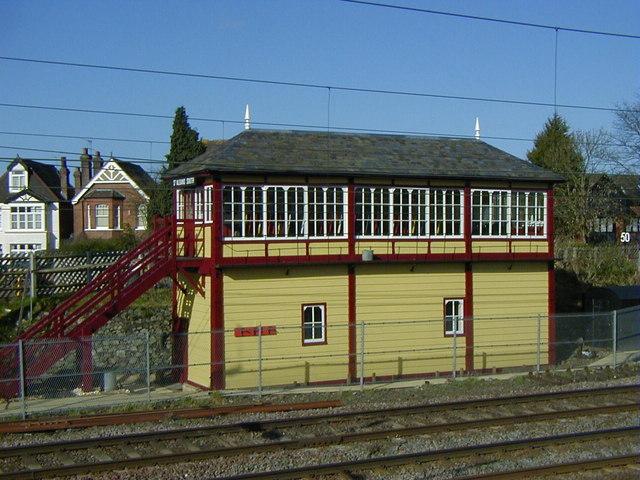 St Albans South Signal Box After     U00a9 John Webb