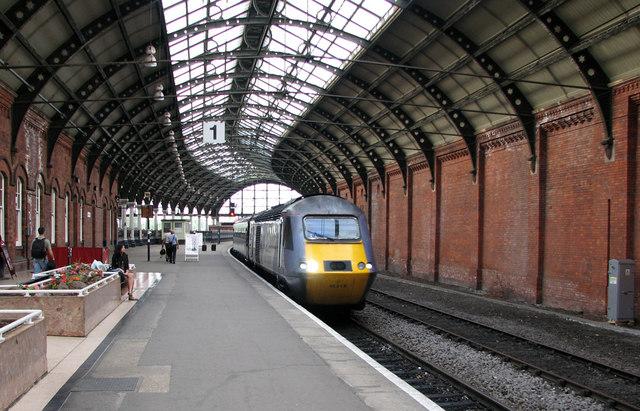 darlington  platform 1  u00a9 john sutton cc 2 0