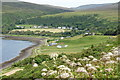 NG3962 : Uig viewed from South Cuil by Mike Pennington