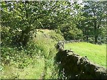 SE0026 : Hebden Royd Footpath 18, Mytholmroyd by Humphrey Bolton