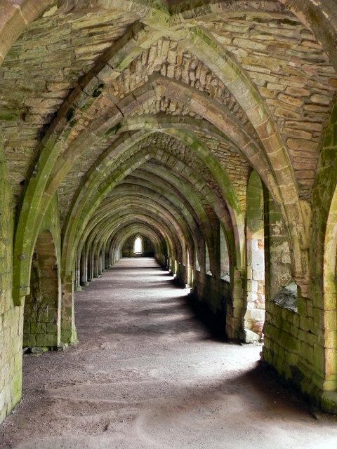 Fountains Abbey, The Cellarium