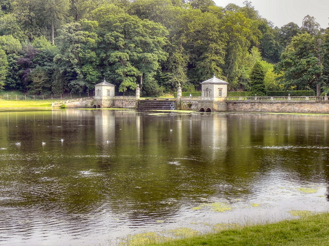 The Lake, Studley Royal Water Gardens