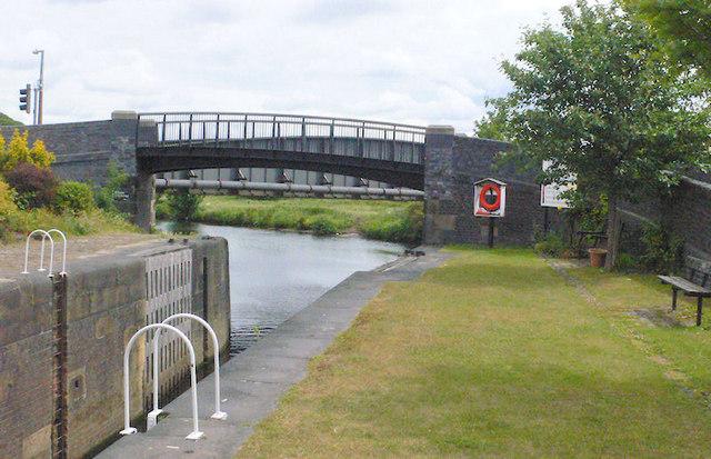 Shepley Lock Bridge