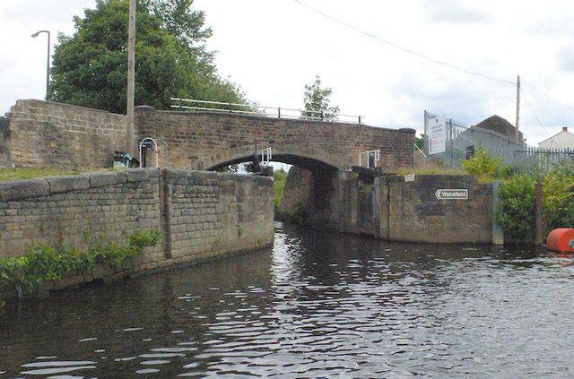 Greenwood Cut End Flood Gates 17 and Low Mill Lane Bridge
