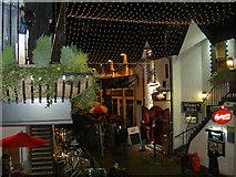 NS5667 : Night life in Ashton Lane by Alan Reid
