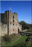 SO5074 : Ludlow Castle by David Robinson