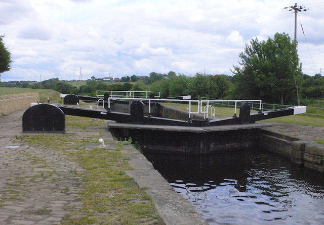Figure of Three Upper Lock 11 from above