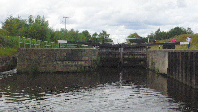 Figure of Three Lower Lock 12 from below