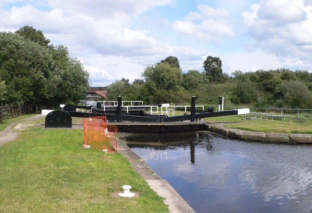 Broad Cut Lock 8 from above