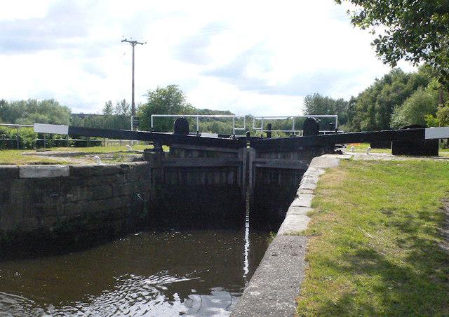 Broad Cut Lock 8 from below