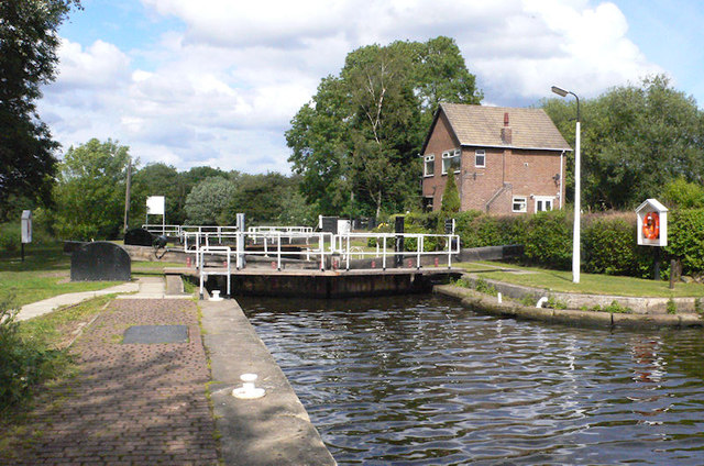 Broad Cut Lock 7 from above