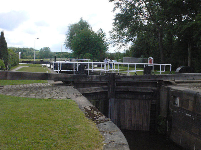 Broad Cut Lock 7 from below