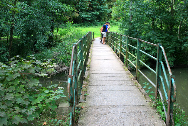Footbridge over the Frome